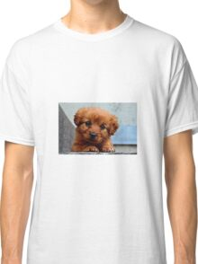 Puppy outside Classic T-Shirt