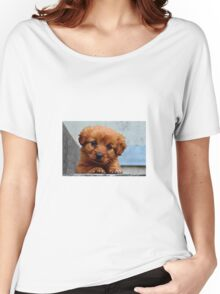 Puppy outside Women's Relaxed Fit T-Shirt