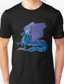 Dragon in Blue T-Shirt