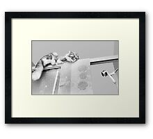 Moments With Max #3 Framed Print