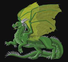 Dragon in Green by Arkani
