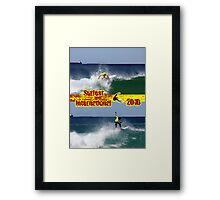Riding High - Surfest International 2010 Framed Print