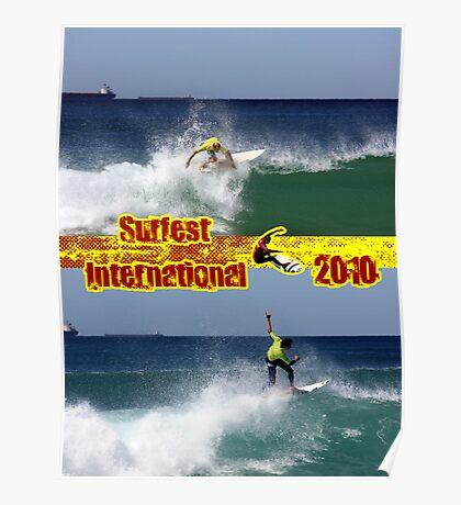 Riding High - Surfest International 2010 Poster
