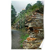 Poppet Head,Long Tunnel Extended Gold Mine, Walhalla Poster