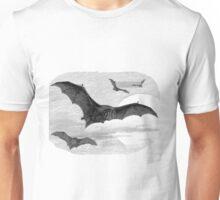 Illustration of the barbastelle bat Unisex T-Shirt