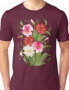 Floral watercolor bouquet Unisex T-Shirt