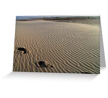 Tranquillity in motion by Patjila Greeting Card