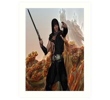 Warrior with a Mission Art Print