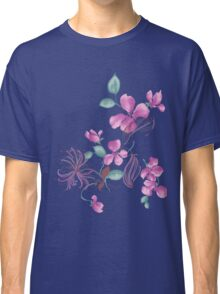 Cute purple flowers Classic T-Shirt