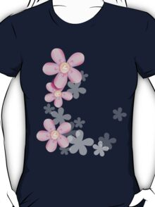 Cute pink flowers T-Shirt