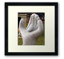 Handle With Love Framed Print
