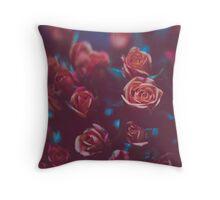 Botánico Oscuro Throw Pillow