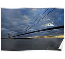 Humber Bridge. Poster