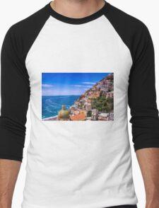 Love Of Poistano Italy Men's Baseball ¾ T-Shirt