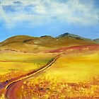 A road in Namibia by Elizabeth Kendall