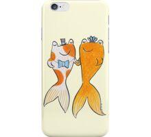 Goldfish Wedding Couple iPhone Case/Skin