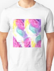 Girly bright pastel watercolor brush strokes T-Shirt