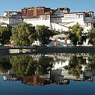 The Potala in Lhassa - Tibet by Marieseyes