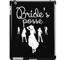Bride's Posse iPad Case/Skin