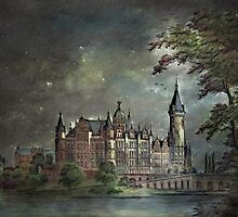 Schwerin Castle 1900 by andy551