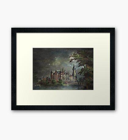 Schwerin Castle 1900 Framed Print
