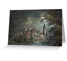 Schwerin Castle 1900 Greeting Card