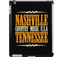 Nashville Tennessee Country Music iPad Case/Skin