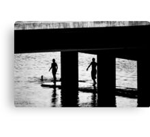 """""""The Swimmers"""" Canvas Print"""