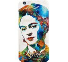 Frida Kahlo Art - Viva La Frida - By Sharon Cummings iPhone Case/Skin
