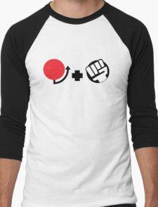 Hadoken Command Men's Baseball ¾ T-Shirt