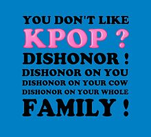 DISHONOR ON YOU! - BLUE by Kpop Seoul Shop