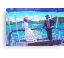 A Sunday Outing Canvas Print