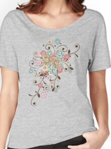 Pretty floral ornament  Women's Relaxed Fit T-Shirt