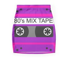Neon 80s mix tape cassette Mini Skirt