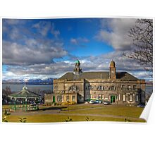 Town Hall and Bandstand Poster