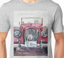 Morgan Red Car Unisex T-Shirt