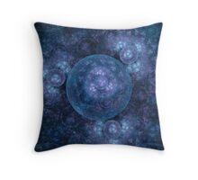 Blue moons Throw Pillow