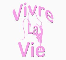 Vivre la vie / Clothing+Products Design Womens Fitted T-Shirt