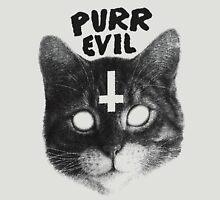 Purr Evil Cat Unisex T-Shirt