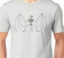 bat skeleton Unisex T-Shirt