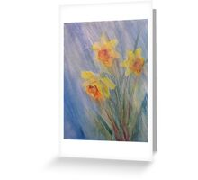 April Showers II Greeting Card