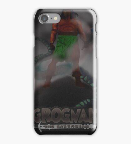 Grognak the Barabarian Skyrim parody iPhone Case/Skin
