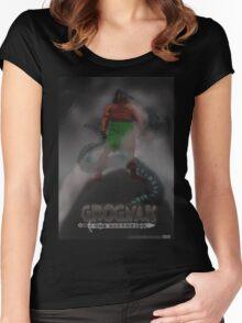 Grognak the Barabarian Skyrim parody Women's Fitted Scoop T-Shirt