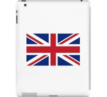 Flag of the United Kingdom, Union Jack, Britain, British flag, Pure & Simple iPad Case/Skin