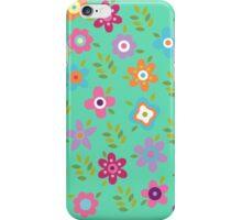 Scattering of cute flowers iPhone Case/Skin