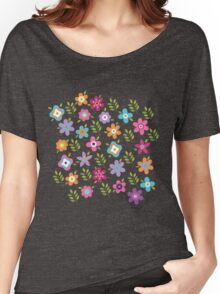 Scattering of cute flowers Women's Relaxed Fit T-Shirt