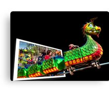 Children's Time Machine Canvas Print