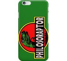 Philosoraptor Meme Funny Velociraptor Dinosaur T Shirt iPhone Case/Skin
