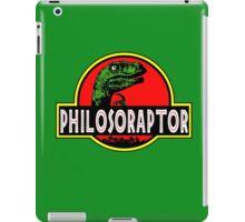 Philosoraptor Meme Funny Velociraptor Dinosaur T Shirt iPad Case/Skin