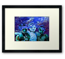 African Star Brothers Framed Print